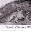 1858年 ルルド御出現の年の現地写真
