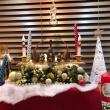 クリスマスの飾りつけが出来ました!