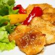 ごはんがすすむ♪鶏むね肉のごま照り焼き&長いもとツナの蒸し焼き♪