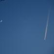 月とひこうき雲