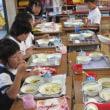 低学年の給食時間