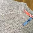 麻のセーターの漂白しみ抜き