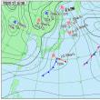 12月8日 アメダスと天気図。