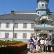 重要文化財旧開智学校見学 県シニア大学B5班