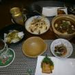 叉焼まんと三代目芋蔵のお惣菜(母は心電図検査に!)