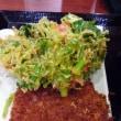 釜揚げうどん 得盛 ハムカツ 野菜かき揚げ 丸亀製麺