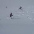 大黒森キャットツアー的オフピステの滑り講習会