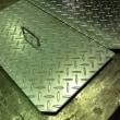 縞鋼板で側溝のふさぎ板を製作しました! 福岡県