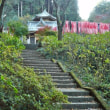 太平山六角堂の紅葉