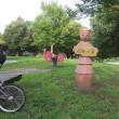夏の甲子園も終わりました・・・ブロンプトンで近くの公園へポタリング。