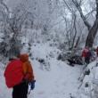 自然の芸術、祖母山の樹氷を堪能