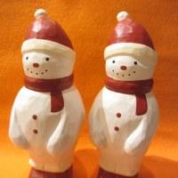 ♪♪ クリスマスのスノーマンが。。。