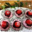 やっと苺が使えます~苺桜もち♥~ ~高校男子キャラ弁当☆~