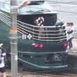 トワイライトエクスプレス 瑞風が柳井駅を出発!