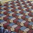 ゴブラン織りのテーブルクロス