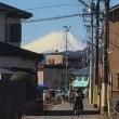 立川市西砂町より富士山