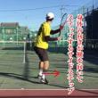 ■フォアハンドストローク アプローチショットのポイント③「サイドステップでボールに入る」〜才能がない人でも上達できるテニスブログ〜