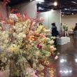 9月26〜28日、アクロス天神にて粘土のお花の展示会を開催。
