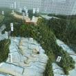 延沢城のジオラマが常盤地区公民館にやってきました。