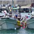 潮をかけ合う船 (和具・潮かけ祭り)