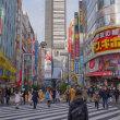 2017.12..1 新宿 歌舞伎町: 大晦日のゴジラ通り