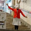 旧博物館動物公園駅の公開と展示 アナウサギを追いかけて その2