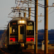 ゆうぐれ新幹線こまちとローカル線
