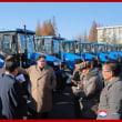 金さんトラクター工場見学&ロシア下院議員団北朝鮮訪問
