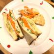今日ランチ〜1食限定トーストサンド