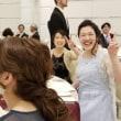 結婚式の写真で真ん中に【ヴァレリと愉快な仲間たち】【福岡市中央区社交ダンススクールライジングスター 】