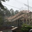MORISH COUNTRY HOUSE新築状況!