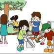 公園掃除からの~~~~!