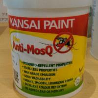 クロスにも塗装面にも塗れる虫除け塗料