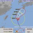 台風22号は、今4…ほう、どう?