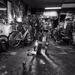 懐かしい自転車店