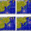 台風21号 また22号がサイパンの下で出来そうです。来週は沖縄かな