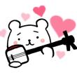 和楽器バンドのべにさんお気に入りスタンプに・・・