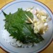 おばさんの料理教室No.2684 茗荷と青紫蘇ご飯
