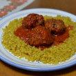 今日の夕食「トルコ料理風・煮込みハンバーグ」