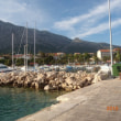 旧ユーゴスラビア4か国の旅<オレビッチ港からコルチュラ島>