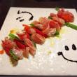 島産金目鯛の炙りカルパッチョ