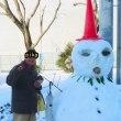 積雪25cm。