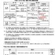 2019年電気工事士試験日程表・難波支部講習会予定表
