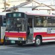 岡山のバス(下電バス旧塗装車)