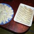 手作り餃子を作りました❗