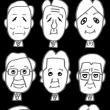 衆議院議員選挙2017(似顔絵)