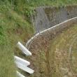 今日は、山の集落の排水路U字溝敷設・・・今日は60本の運搬と、22本敷設しました。