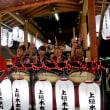 山車の笛太鼓