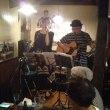 富士見台の居酒屋「流」で猫ラジヲ&PUGのライブ
