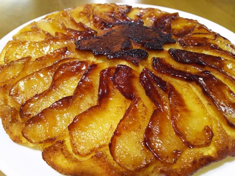 フライパンで作るリンゴケーキ(*^-^*)